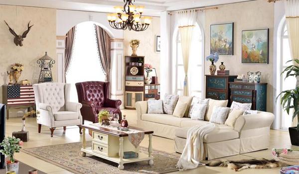 美式沙发款式图片