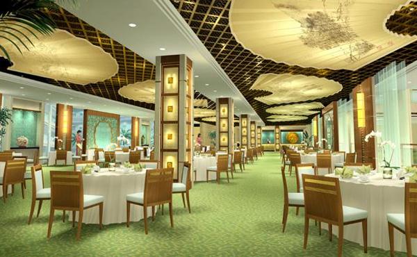 饭店装修效果图_餐厅装修图片