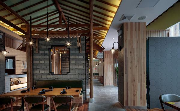 【牛都牛肉火锅店装修图】火锅店餐厅家具哪里可以