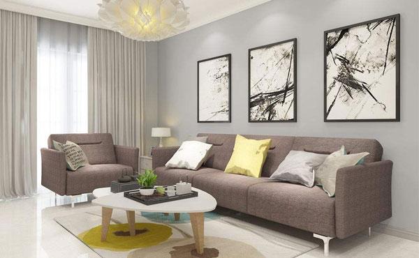 哪里有卖小户型客厅布艺沙发?图片