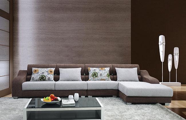 布艺沙发-7018