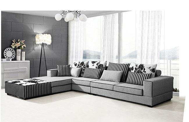 客厅布艺沙发-2060