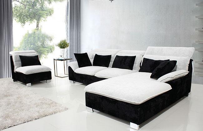客厅布艺沙发-2073