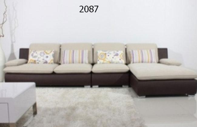 雅莉莎布艺客厅沙发2087