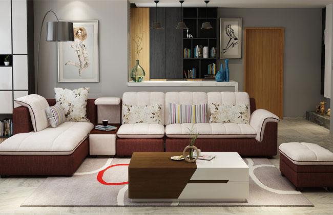 客厅布艺沙发-2121