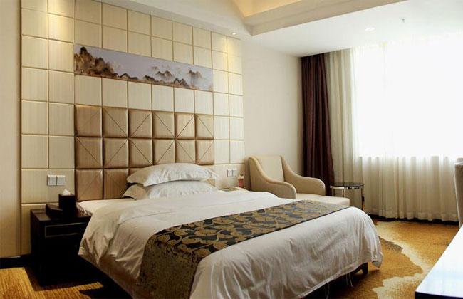 酒店宾馆双人床_HY-10