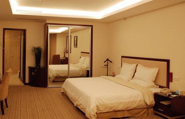 酒店宾馆双人床_HY-11