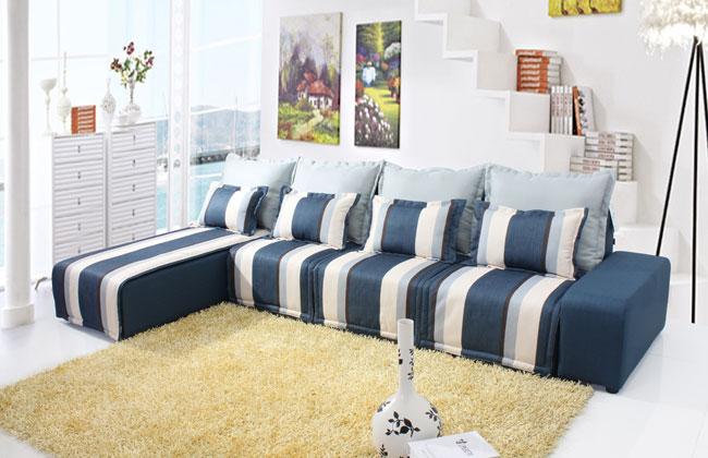 客厅布艺沙发-2070