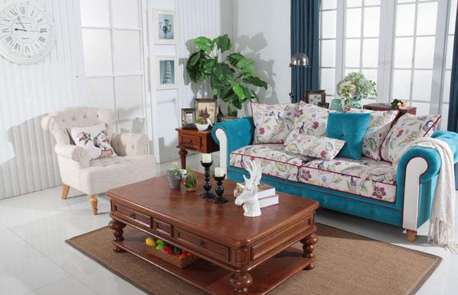 客厅布艺沙发-2130