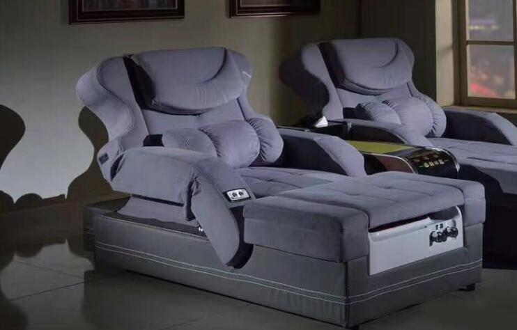 新款足疗沙发、浴场电动沙发_ZYSF-15